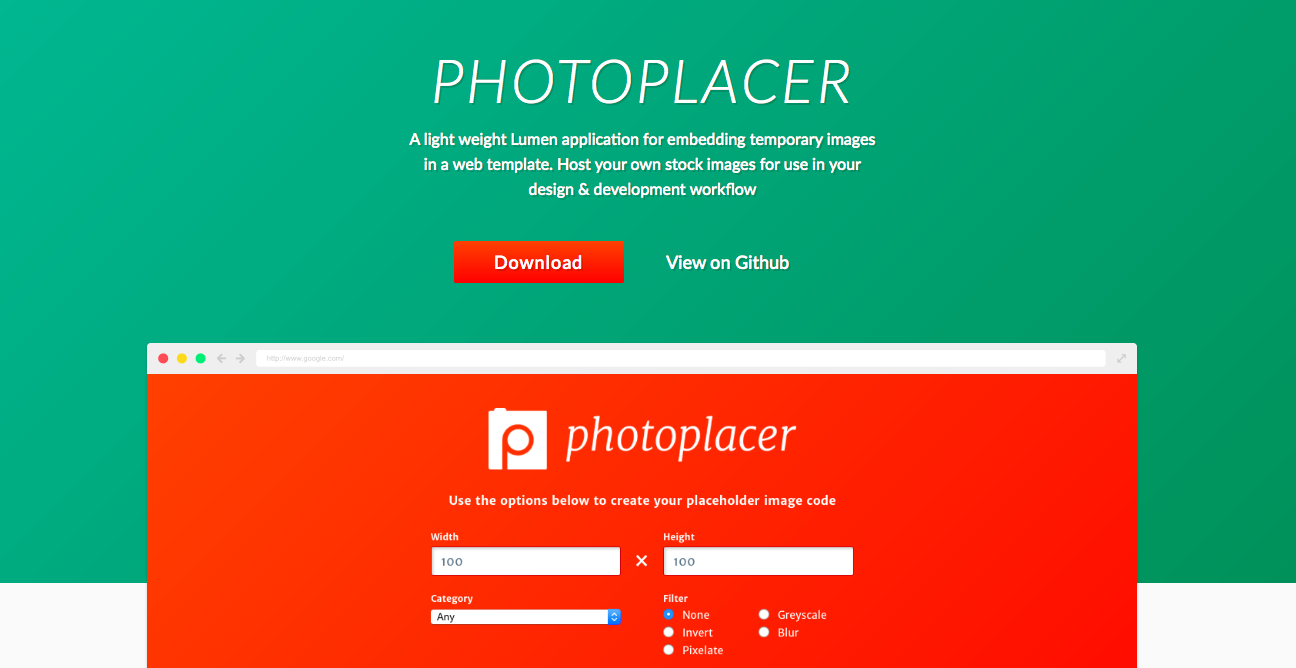 Photoplacer